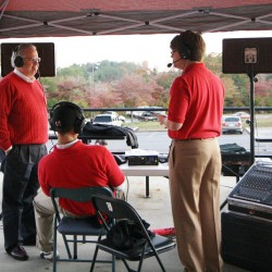 "The Sports Inferno ""Tailgate Party"" at the Senior patio before the Cedartown/Ringgold game. (Gail Conner/camerachik.com)"