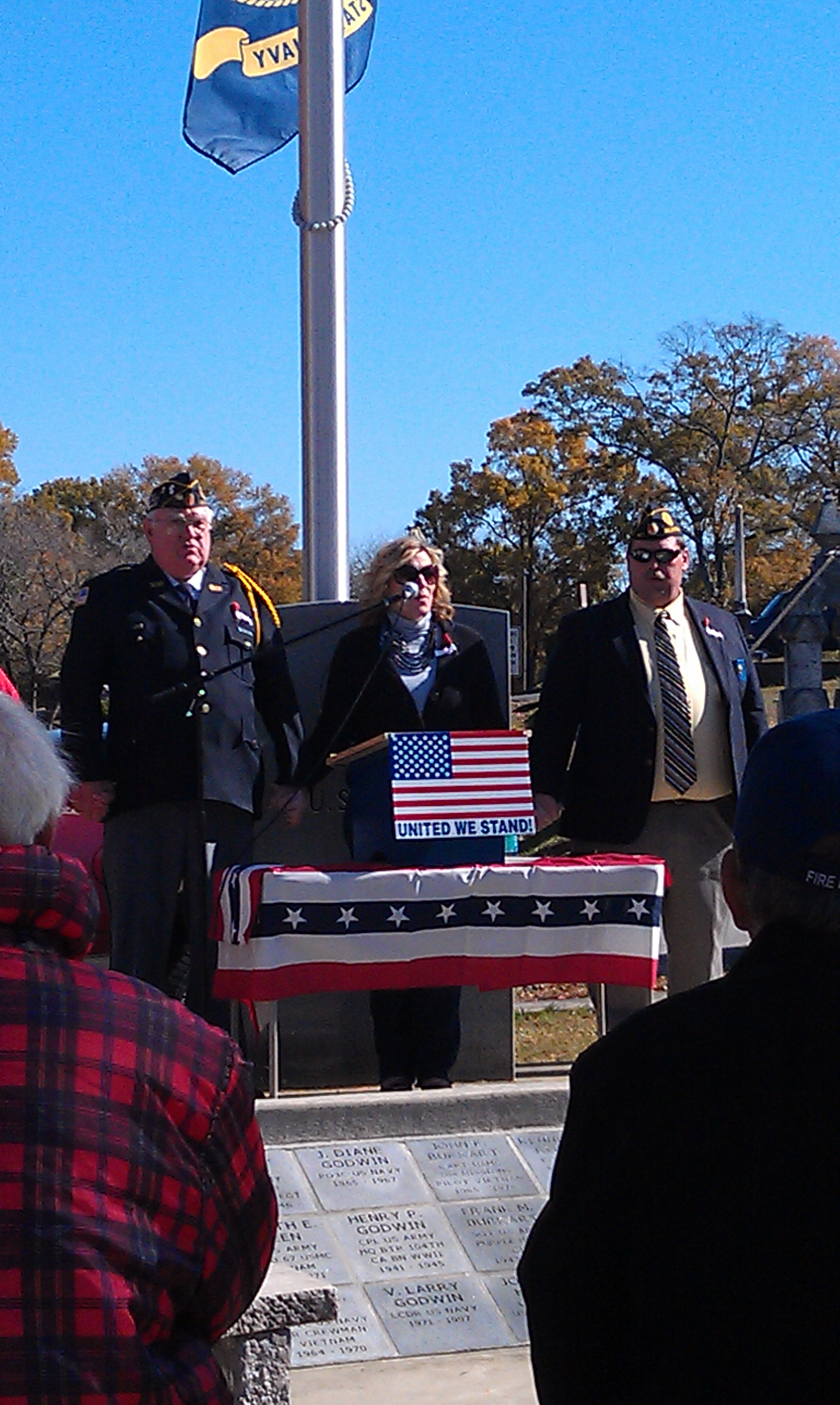 Veterans Memorial (Singer Pic)