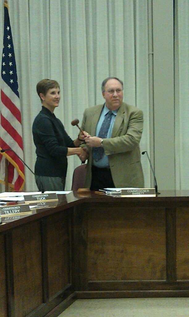 Tuck Becomes Chairwoman