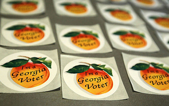 Georgia Voter stickers