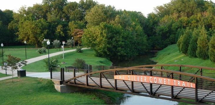 Silver Comet Trail bridge
