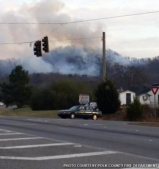 Braswell Mtn Road fire