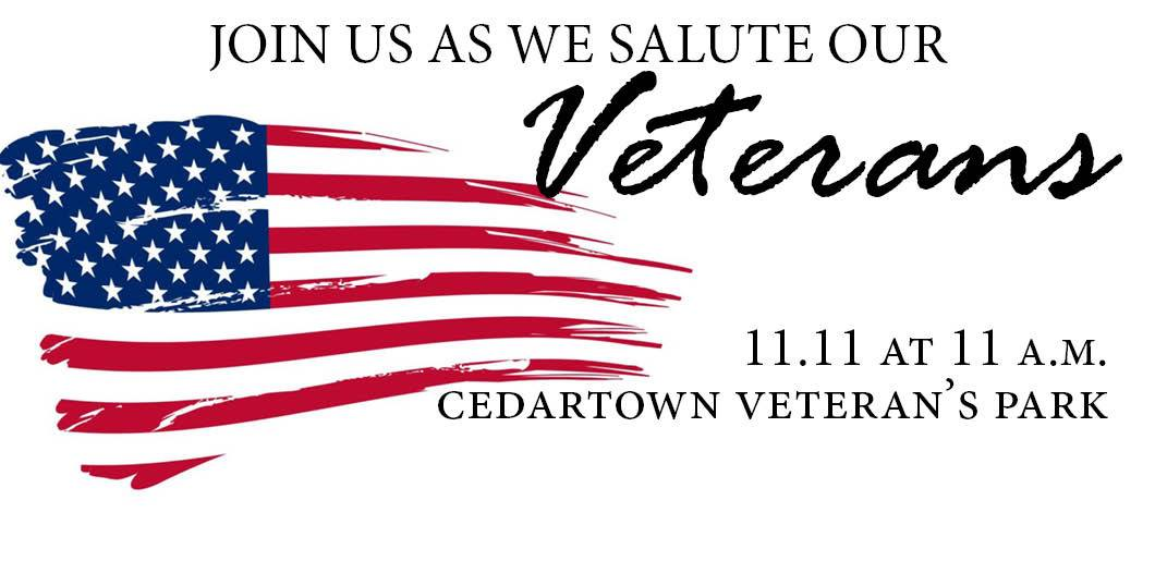 Cedartown Vets Day 2014