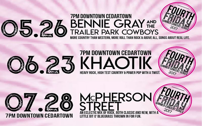 Downtown Concert Series 2017
