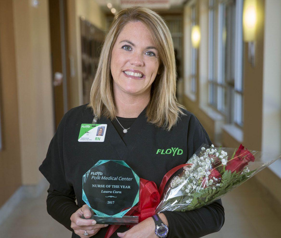 Laura Corn Nurse of the Year