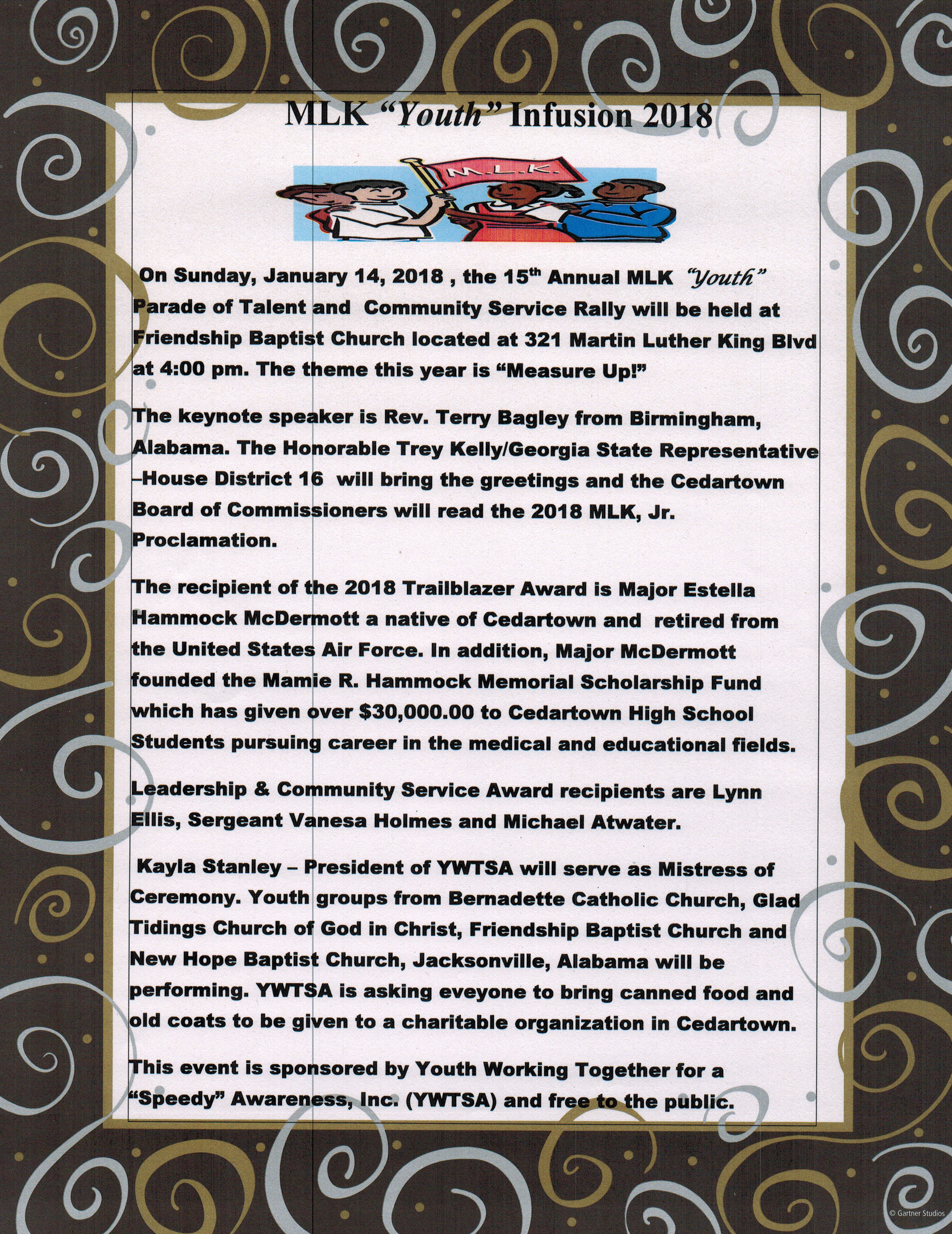 Mlk Youth Infusion 2018 Wgaa Radio